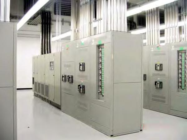 or less Transformers, PDUs PDUs going away/higher voltage to racks (230-277) = reducing transformers