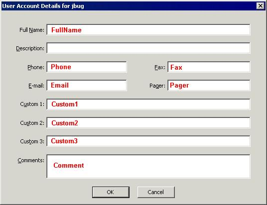 Dialog Box Equivalents Interface Reference: ICIClientSettings - Client Settings Interface The ICIClientSettings interface methods and properties correlate to the following fields and controls in the