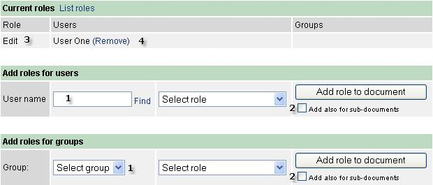 41 12.5 User Types Kronodoc distinguishes several user types, which have different set of rights.