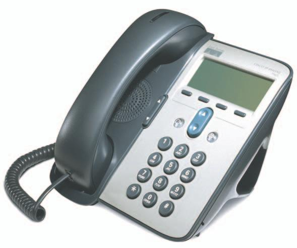 An Overview of Your Phone An Overview of Your Phone The Cisco IP Phones 7905G and 7912G support: Voice communication over a data network Familiar telephony features to handle calls easily Special
