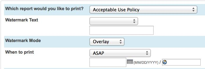 On the Start Page, click the printer icn next t the sectin fr which yu want t print reprts 2. Select which reprt yu wuld like t print 3.