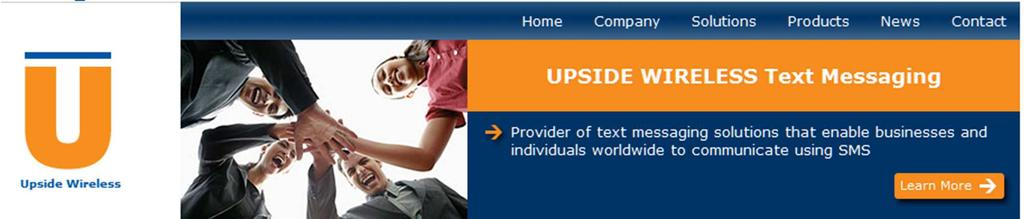2011 texting option: Upside Wireless $35 (Canadian dollars) per month, for 400 texts per month (includes all
