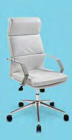 "Executive Chair (black vinyl) 27""L"
