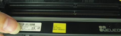 2.5 Installation of Memory Modules (DIMM) This motherboard provides two 240-pin DDR3 (Double Data Rate 3) DIMM slots, and supports Dual Channel Memory Technology.