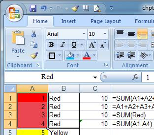 Chapter 6, Page 45 Also available is the ability to control the direction of processing by rows or columns. With Find you can control whether Excel will look in formulas and comment boxes.