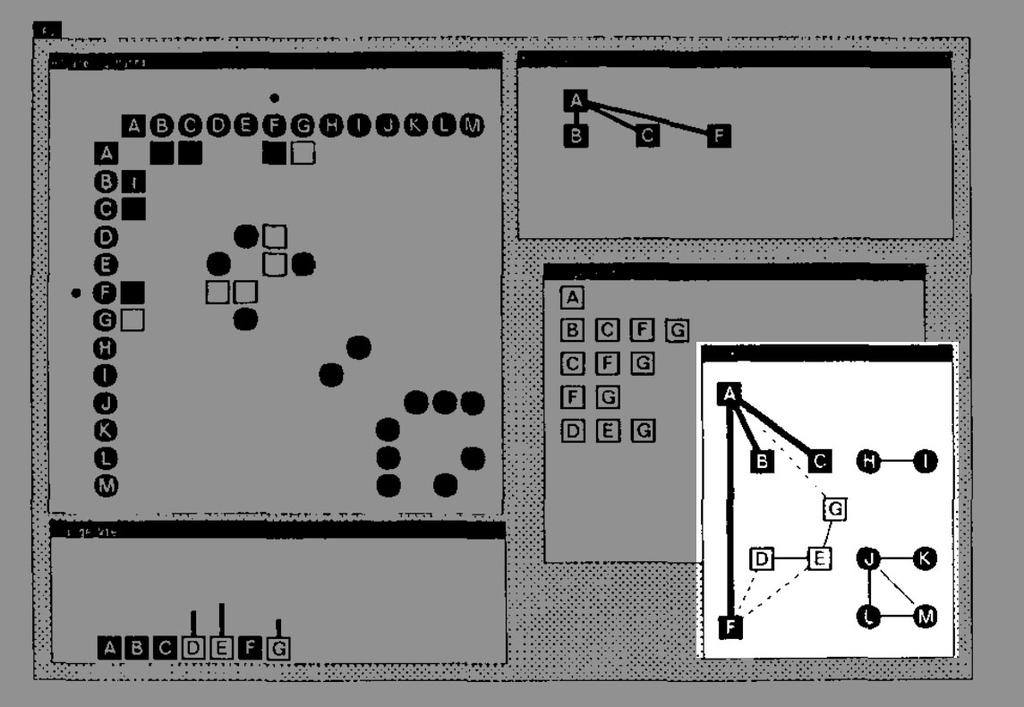 Figure 1-4: BALSA exposes an algorithms detail with multiple dynamic views to illustrate the process of sorting data structures The video Sorting out Sorting presented by Baecker [9] in 1981 is often