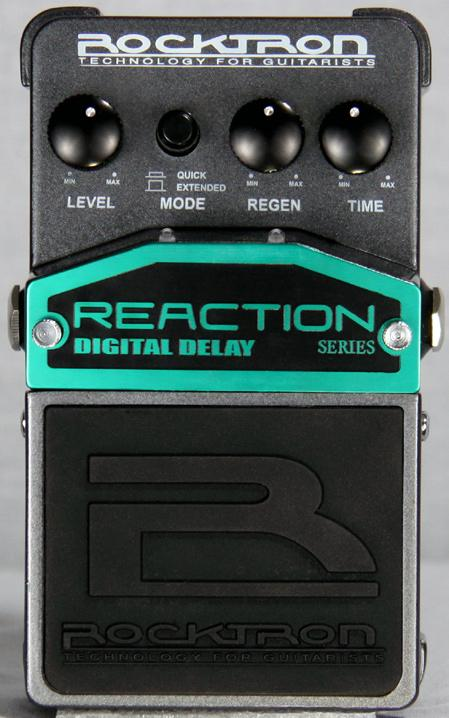 Reaction Digital Delay Instruction Manual May be covered by one or more of the following: U.S.