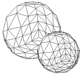 Especially, for a single convex polyhedron, the back-face culling does the entire job of hidden-surface