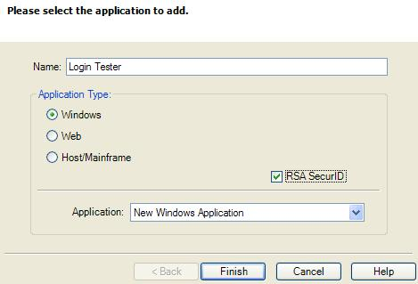Authenticator Configuration Settings 4.