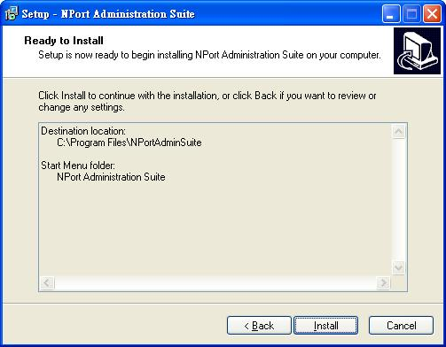 Configuring NPort Administrator 4.