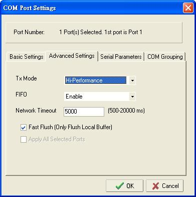 Configuring NPort Administrator 7.