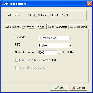Configuring NPort Administrator