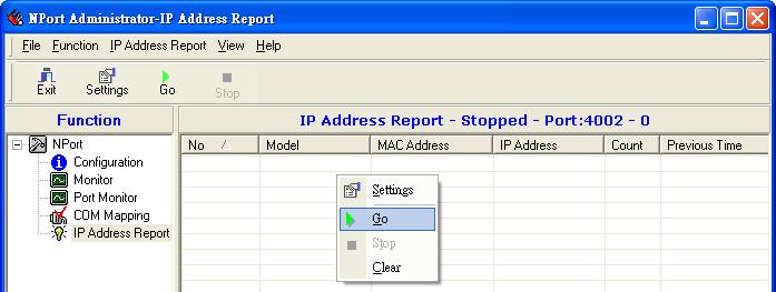 NPort IA5150A/IA5250A s Auto report to UDP port