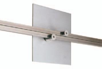 "sample model# BT-522-RB BT-522- AL - Aluminum Mid Feed Bracket (BT-515) Covers standard 4"" octagon box or"