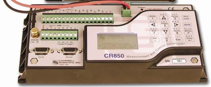 For those users of CR10X dataloggers who are switching to CR800 dataloggers, the Transformer Utility can be used to convert a CR10X program to a CR800 program, which can be imported into the CRBasic