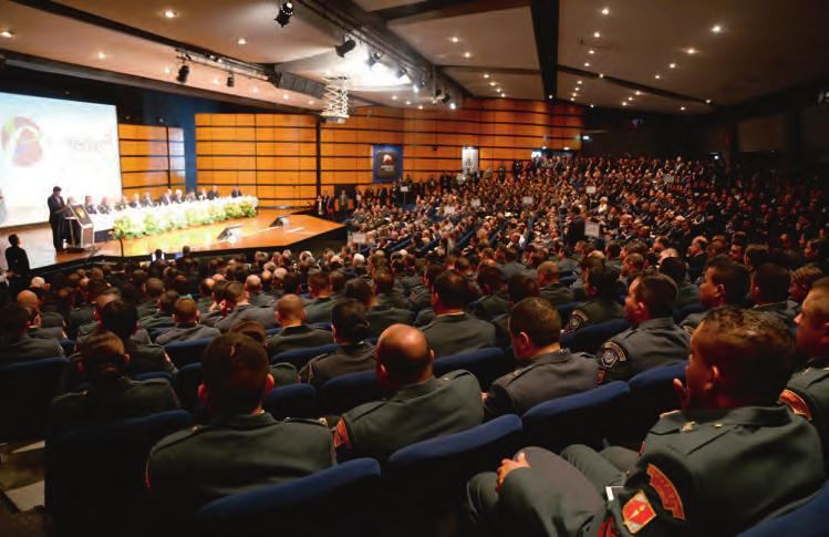 EXPODEFENSA Conferences To address new Defense and Security issues, EXPODEFENSA brings together decision-makers, operational staff and manufacturers at international conferences on targeted subjects.