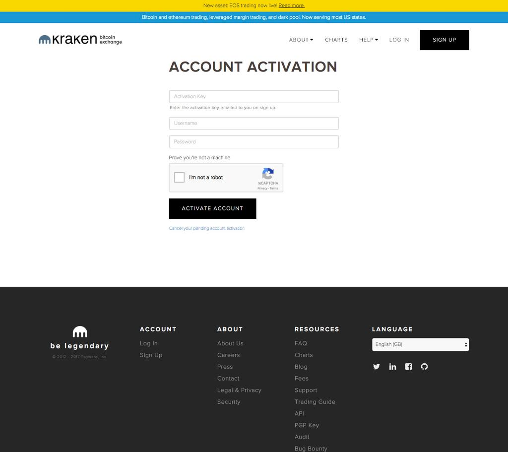 STEP 2 ACTIVATE YOUR ACCOUNT You will now be redirected to the activation page.