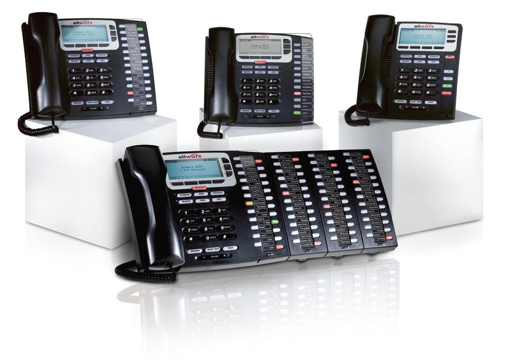 Allworx IP Phones IP Phones Allworx Allworx giving you the power of choice.