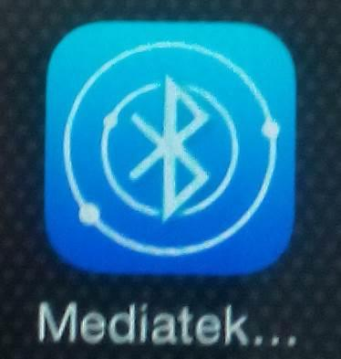 Iphone need to download Mediatek SmartDevice on app store directly.