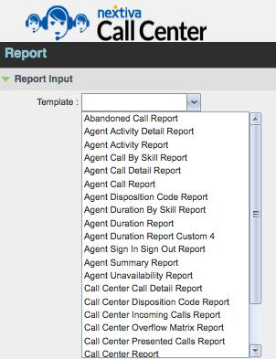 (Figure 4-11) Figure 4-11: Enabling Reporting To run reports, the supervisor must click on the Reporting link in the top right of the