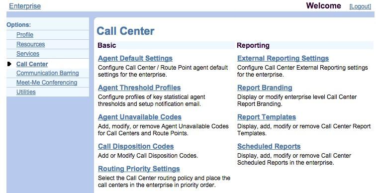 34 P age Call Center Agent and Routing Settings Agent Settings NOTE: For all agent settings depicted in this section, Figure 4-19 through Figure 4-23, you will need to contact Nextiva