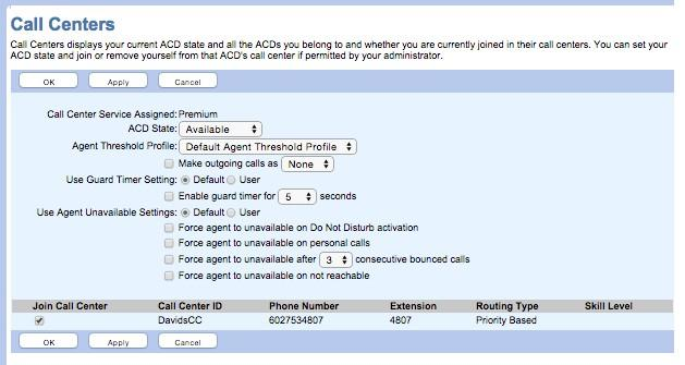 37 P age User Level Agent Settings Each agent that is in a specific call center can log in to the call center with Agent Access (Figure 4-25).