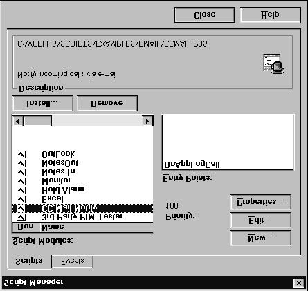 PhoneBASIC ViewCall Plus includes PhoneBASIC, which lets you integrate ViewCall Plus with a number of different programs, such as Microsoft Office.