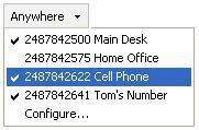 Web Screen Pop To open a URL in your browser for an incoming call, click Web Pop URL in the Call Notification window.