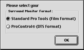 See the Pro Tools Reference Guide for more information about Preferences. 7 For Pro Tools 24 MIX and MIXplus systems, you are prompted to install the Surround Mixer plug-in.