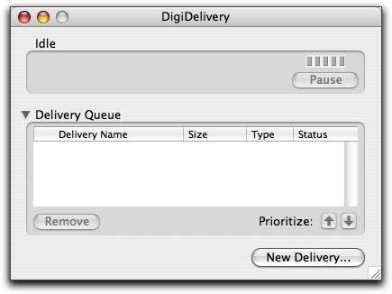 chapter 7 Sending Deliveries You create a delivery by uploading files to a DigiDelivery server and naming recipients for the delivery.