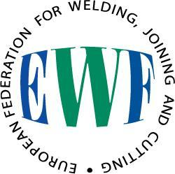 EWF The European Federation for Welding, Joining and Cutting, was created in 1992 by all the welding institutes of the