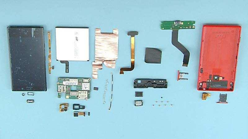45) The Nokia Lumia 720 disassembly procedure is complete.