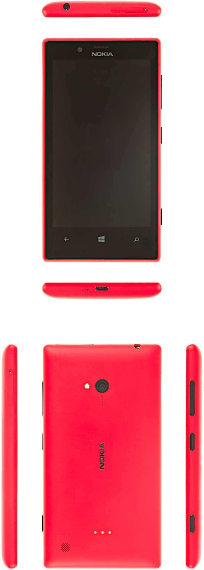 Service Manual Level 1 and 2 Nokia Lumia 720 RM-885 Version 1.0 Product controls and interfaces 1 3 5 7 11 12 13 14 15 2 4 6 8 9 10 1 Nokia AV 3.