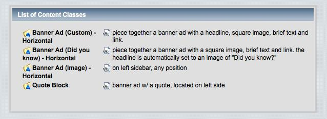 Create a New Banner Ad 1. Click top left reddot- open/close page layout. 2.