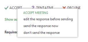 3. Fill out the appointment/meeting dialog screen that appears.