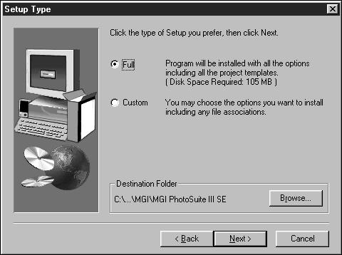 and insert the CD- ROM disc. 5 Choose [English] and click [OK].