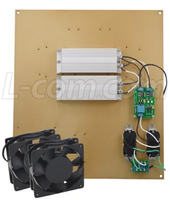 The box can also be pole mounted with the optional pole mounting hardware kit.
