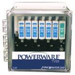 Powerware TVSS -ZoneMaster 250 & 300 Designed and engineered to protect from the most severe transients, including lightning, at the main service entrance.