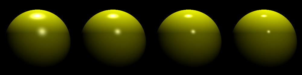 Multiple Light Sources Diffuse and specular contribution of each light source must be accumulated: L