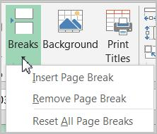 Click on Print Area one more time and select Clear Print Area to clear the chosen print area.