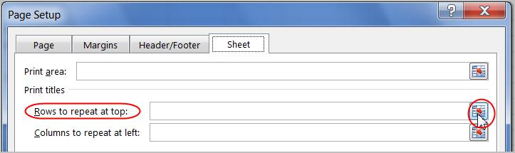 Printing Titles or Repeating Rows at the Top: If your worksheet uses title headings, it's important to include these headings on each page of your printed worksheet.