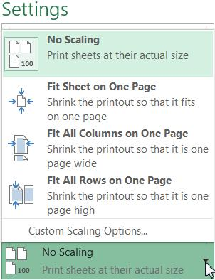 6. Letter: If your printer uses different paper sizes, you can select your paper size here. 7. Custom Margins: Here you can adjust the page margins to fit the data better. 8.