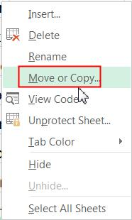 Copy a Worksheet: You can duplicate the content of a worksheet by using Copy function in Excel. 1.
