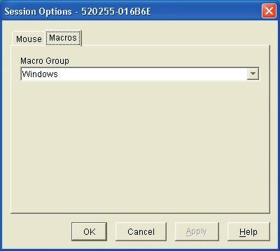 Chapter 3: Basic Operations 29 Figure 3.14: Viewer Session Options Dialog Box - Macro Tab 3.