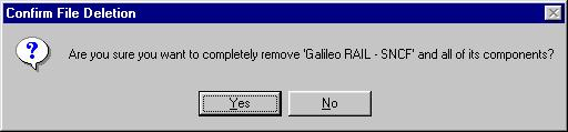 The Add/Remove Programs Properties dialog box displays. 4.