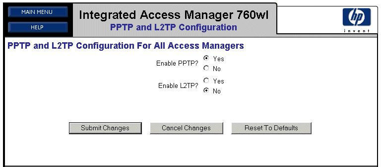 Configuring Security on the 700wl Series your system is connected through a downlink port on an Integrated Access Manager, set your browser to https://42.0.0.1:445. Step 2.