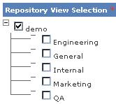 Chapter 1 Authoring Content In this example, users assigned either the demo or the General view can access the article.