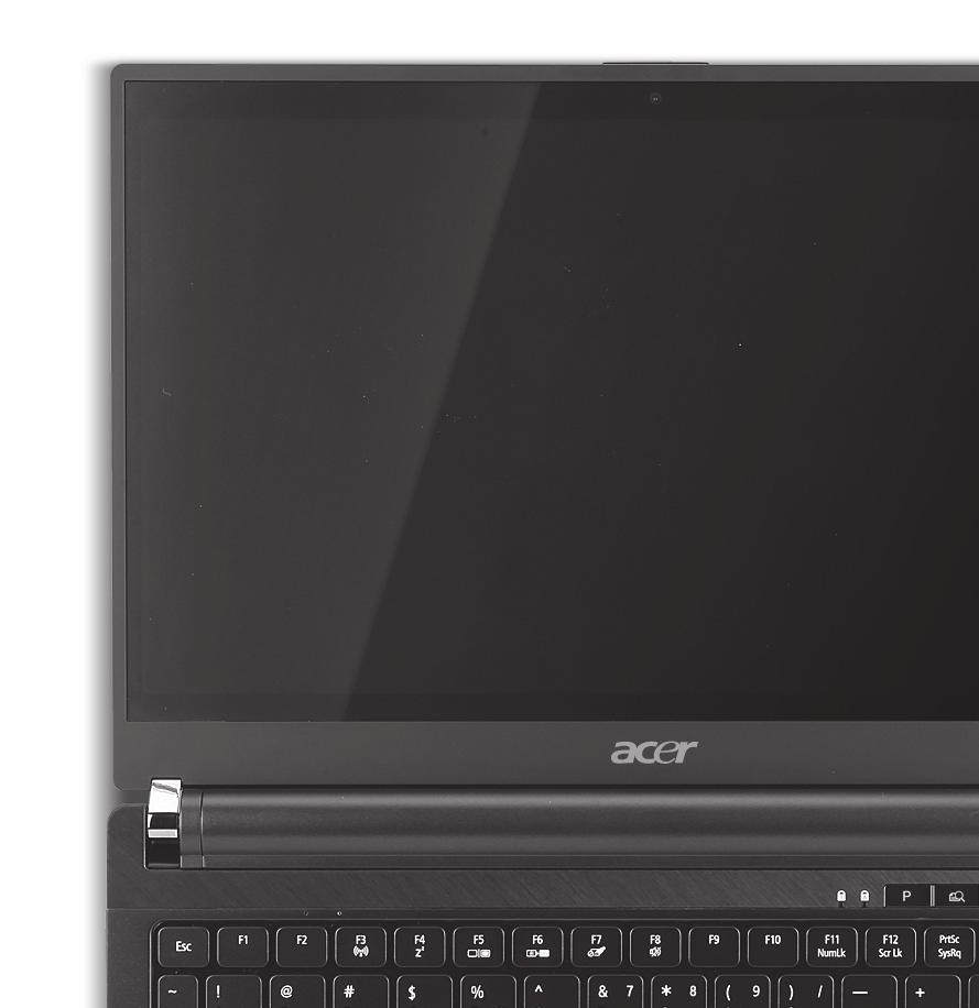 4 Your Acer notebook tour After