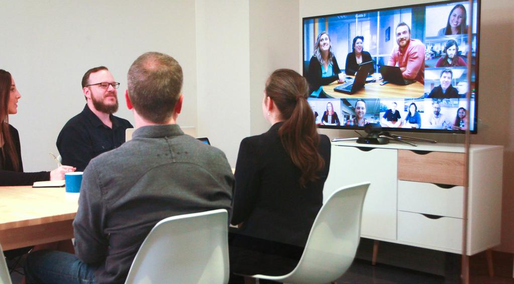 The Ultimate Guide to Video Conferencing Technology How we communicate around the office and with our clients and customers is changing.