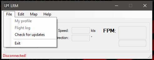 By default, the landing and take-off information will be displayed in the simulator for a period of 30 seconds, this time span can however be customised in the Preferences window.